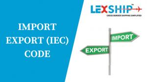 IMPORTEXPORT (IEC)CODE